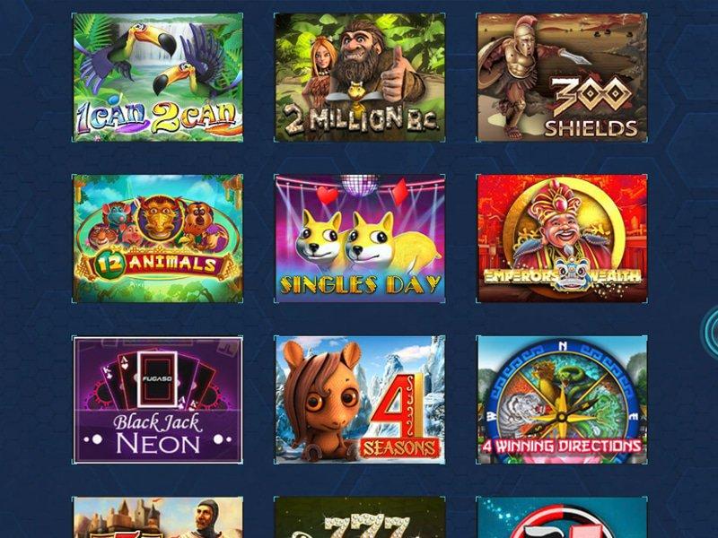 Spintropolis Casino - apercu de logiciel