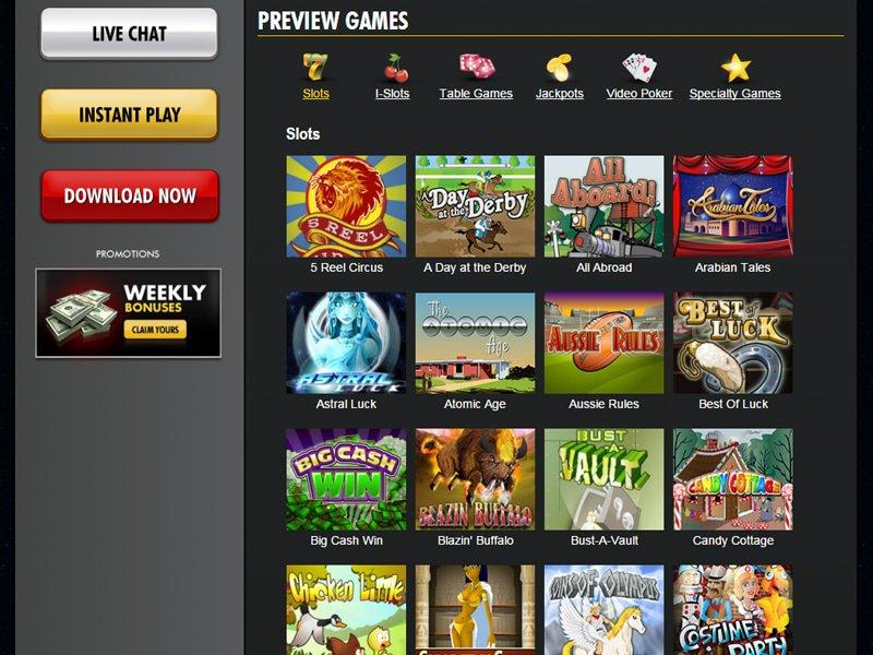 Super Nova Casino - apercu de logiciel
