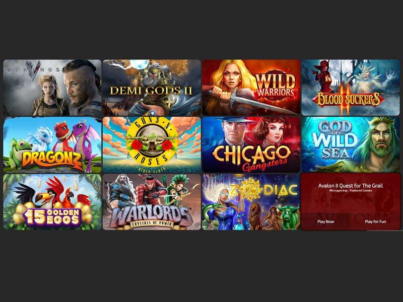 VegasLand Casino - apercu de logiciel