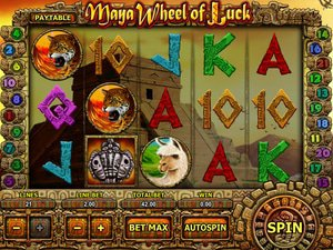 Maya Wheel of Luck - apercu
