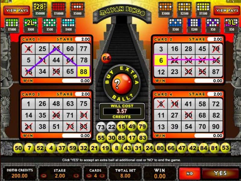 Mayan Bingo - apercu