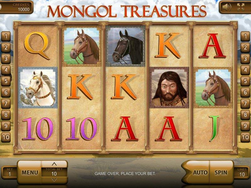Mongol Treasures - apercu