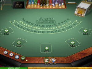 Multi-hand European Blackjack Gold - apercu