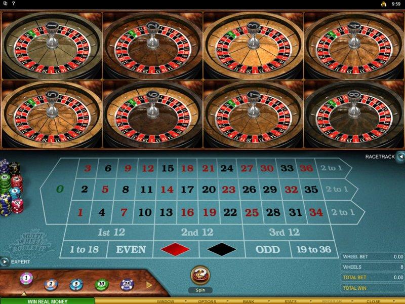 Multi Wheel Roulette Gold - apercu