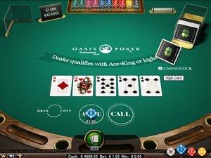 Oasis Poker - apercu