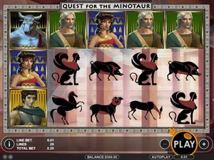 Quest for the Minotaur - apercu