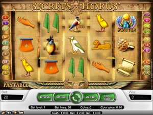 Secrets of Horus - apercu