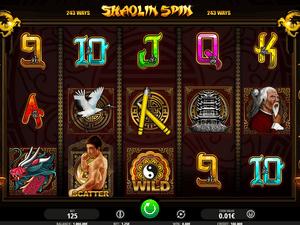 Shaolin Spin - apercu