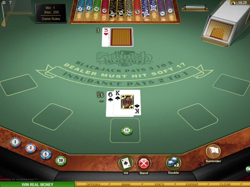 Spanish 21 Blackjack Gold - apercu