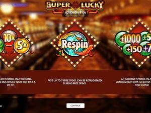 Super Lucky Reels - apercu