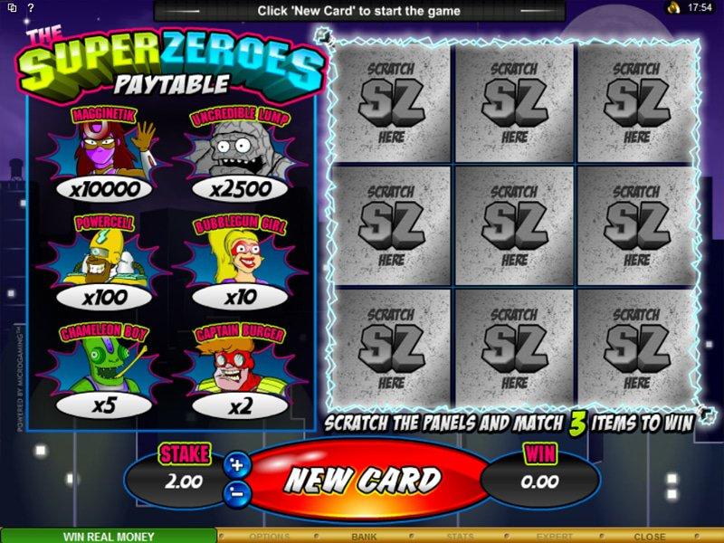 Super Zeroes - apercu