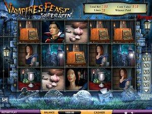 Vampires Feast Super Spin - apercu