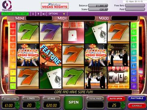 Vegas Nights - apercu