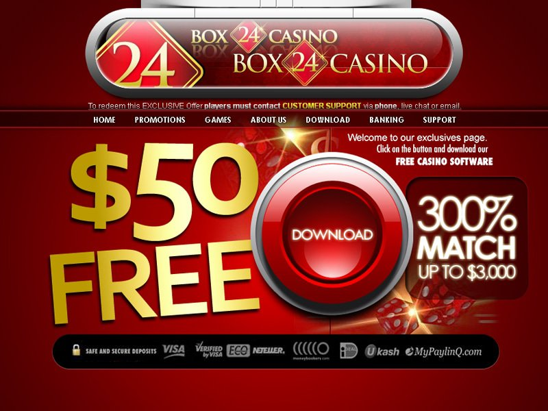 Box24 Casino - apercu de site