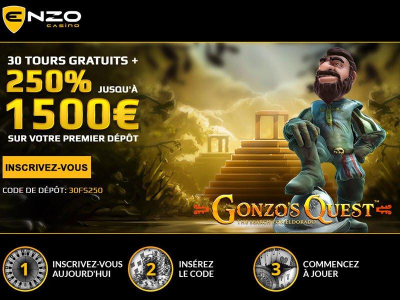 Casino Enzo - apercu de site