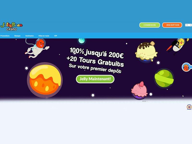 Jellybean - apercu de site