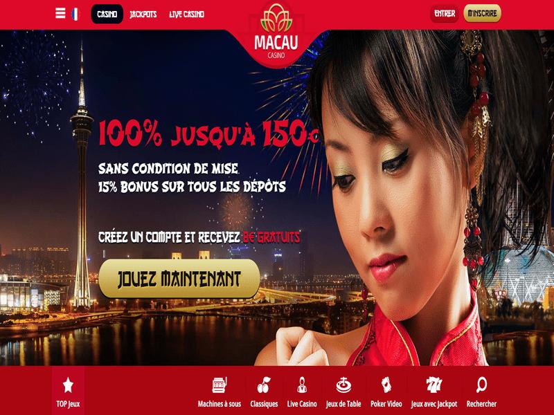Macau Casino - apercu de site
