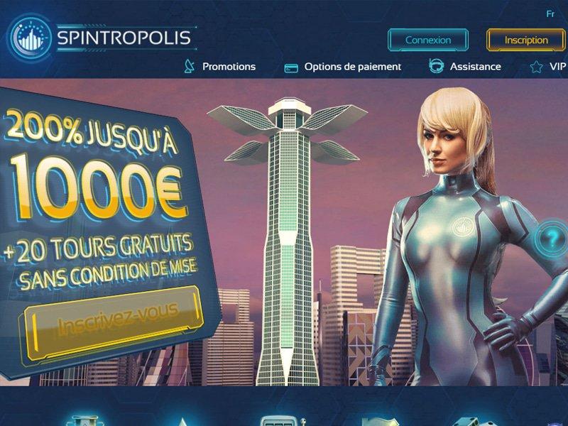 Spintropolis Casino - apercu de site