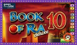 Book of Ra Deluxe 10 : Nouveau jeu de casino de Greentube