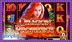 Les casinos Pariplay présentent le jeu de casino Dragon Prophecy