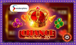 Chance Machine 20 débarque sur les casinos Endorphina