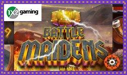 Découvrez Battle Maidens, le nouveau jeu de casino 1x2 Gaming