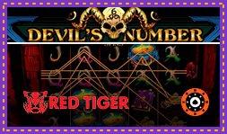 Devil's Number : Jeu de casino en ligne signé Red Tiger Gaming