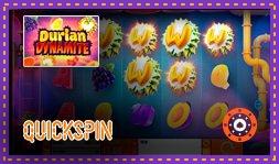 Durian Dynamite : Jeu de casino signé Quickspin