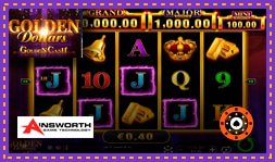 Golden Dollars : Golden Cash : Jeu de casino signé Ainsworth