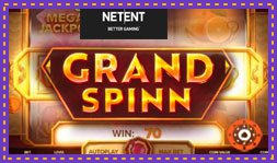 Grand Spinn : Jeu de casino signé Net Entertainment