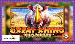 Great Rhino Deluxe bientôt disponible sur les sites Pragmatic Play