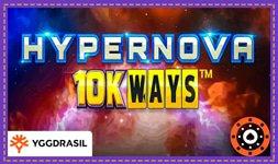 Jeu de casino en ligne Hypernova 10K Ways d'Yggdrasil