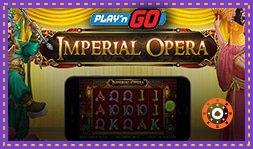 Imperial Opera : Nouvelle machine à sous de Play'n Go