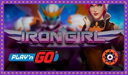 Iron Girl : Nouveau jeu de casino de Play'n Go