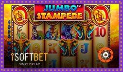 iSoftbet lance le jeu de casino Jumbo Stampede