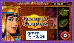 Jeu de casino Beauty of Cleopatra développé par Greentube