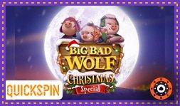 Nouveau jeu de casino Big Bad Wolf Christmas Special de Quickspin