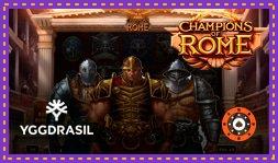 Jeu de casino Champions Of Rome bientôt disponible