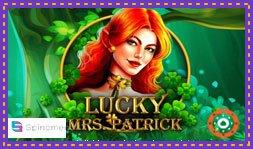 Le jeu de casino en ligne Lucky Mrs Patrick est disponible