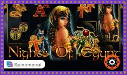 Jeu de casino en ligne Nights of Egypt de Spinomenal
