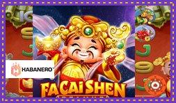 Jeu de casino Fa Cai Shen Deluxe de Habanero