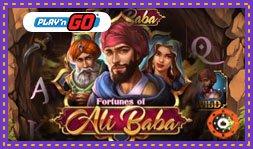 Jeu de casino Fortunes of Ali Baba de Play'N Go pour février