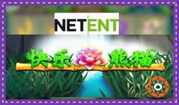 Jeu de casino Happy Panda de NetEnt récemment lancé