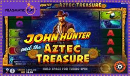 Jeu de casino John Hunter and the Aztec Treasure récemment lancé