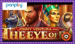 Jeu de casino Jonny Ventura and The Eye of Ra lancé