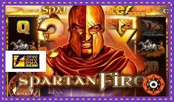 Le jeu de casino Spartan Fire débarque en juillet