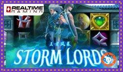 RTG signe le jeu de casino en ligne gratuit Storm Lords