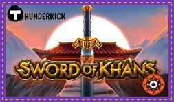 Le jeu de casino Sword of Khans est déjà disponible