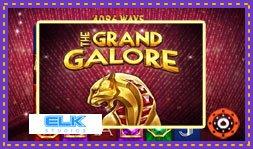 Le jeu de casino The Grand Galore d'Elk Studios est disponible