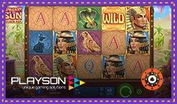 Kingdom of the Sun: Golden Age : Nouveau jeu en ligne de Playson